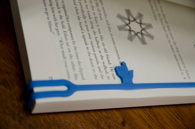 Caretaker bookmark closeup