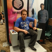 He's ready to boldly go!